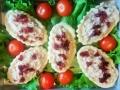 Valdorf camcici - Valdorf salata (neutralna pavlaka, celer, orasi, jabuke) i brusnice