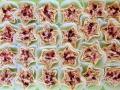 Valdorf zvezdice - Valdorf salata - neutralna pavlaka, celer, orasi, jabuke i brusnice
