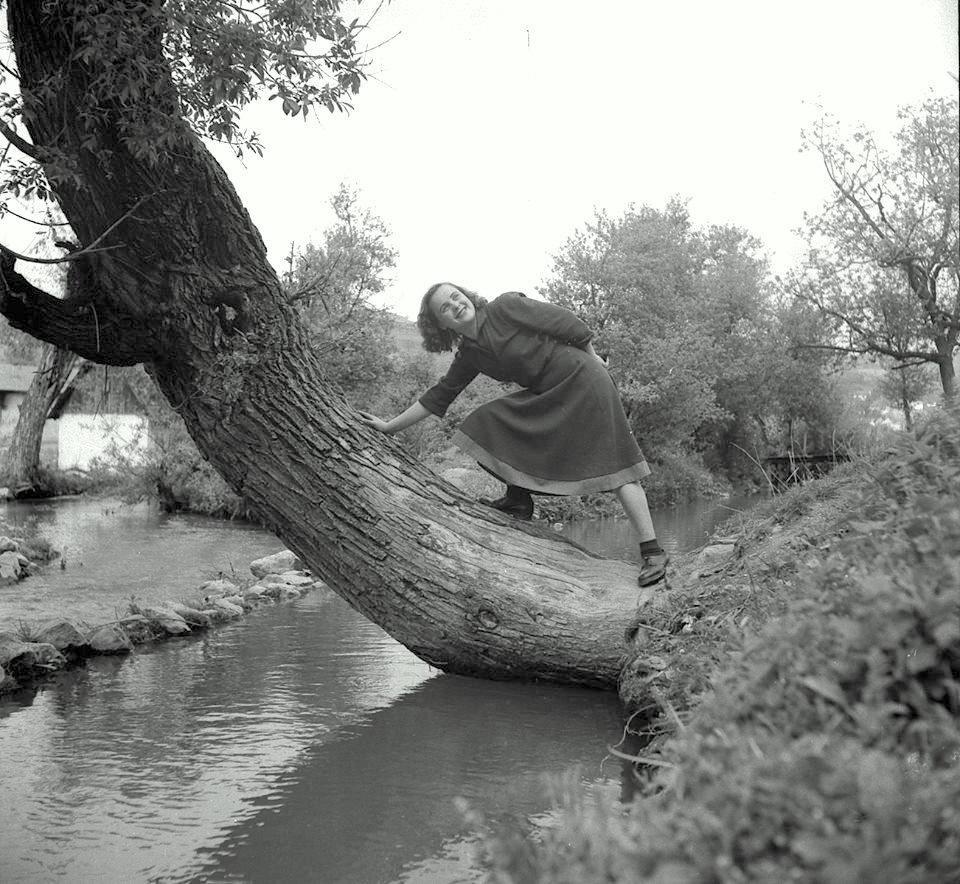 Jedna od omiljeni vrba mladih Užičana uz jaz koji je pokretao Dragovu vodenicu i punio vodom kupalište.