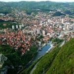 Grad Uzice panorama sa bioktosa 1