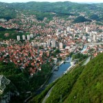 Grad Uzice panorama sa bioktosa 2
