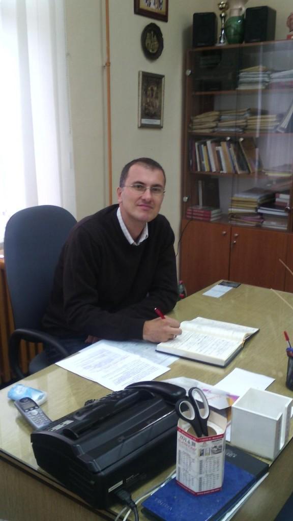 Nikola Bacetic, novi vd direktora Prve osnovne skole