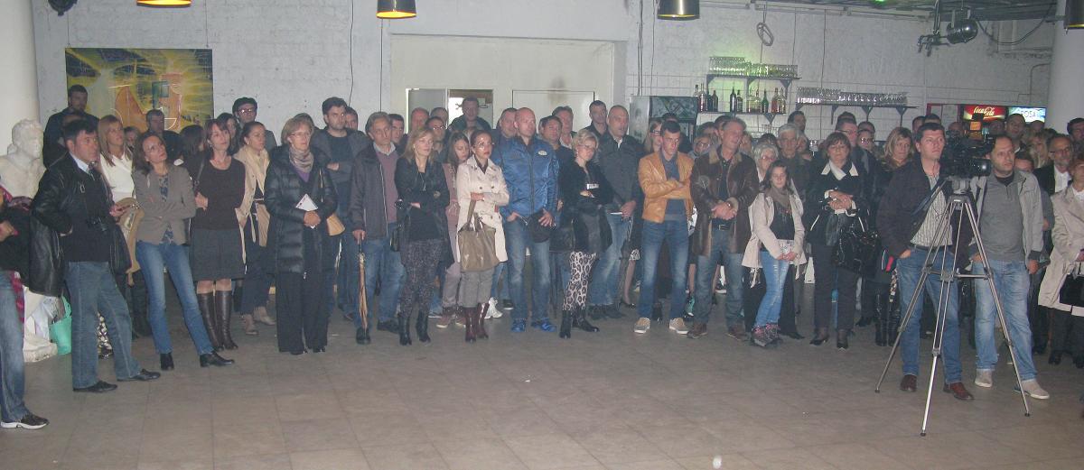 Deo publike na promociji