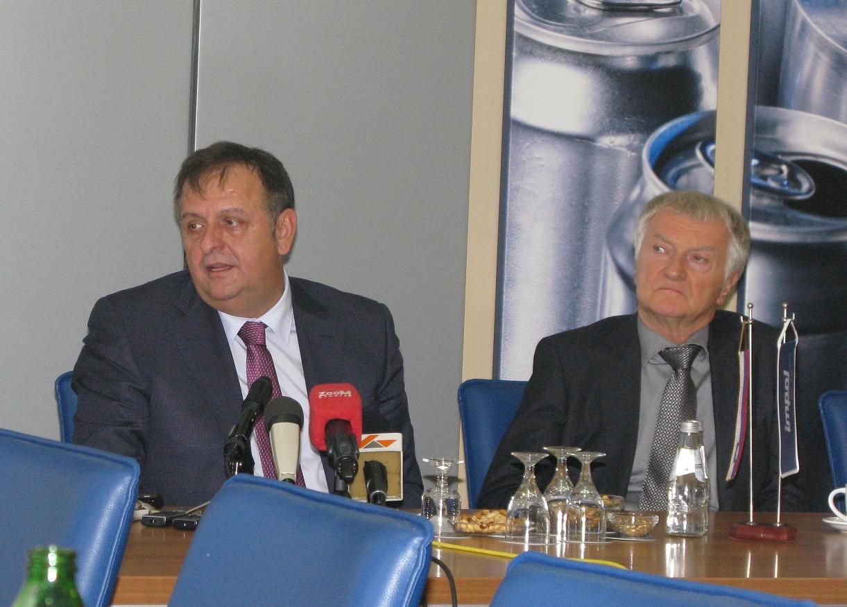 Ninko Tešić i Jernej Čokla