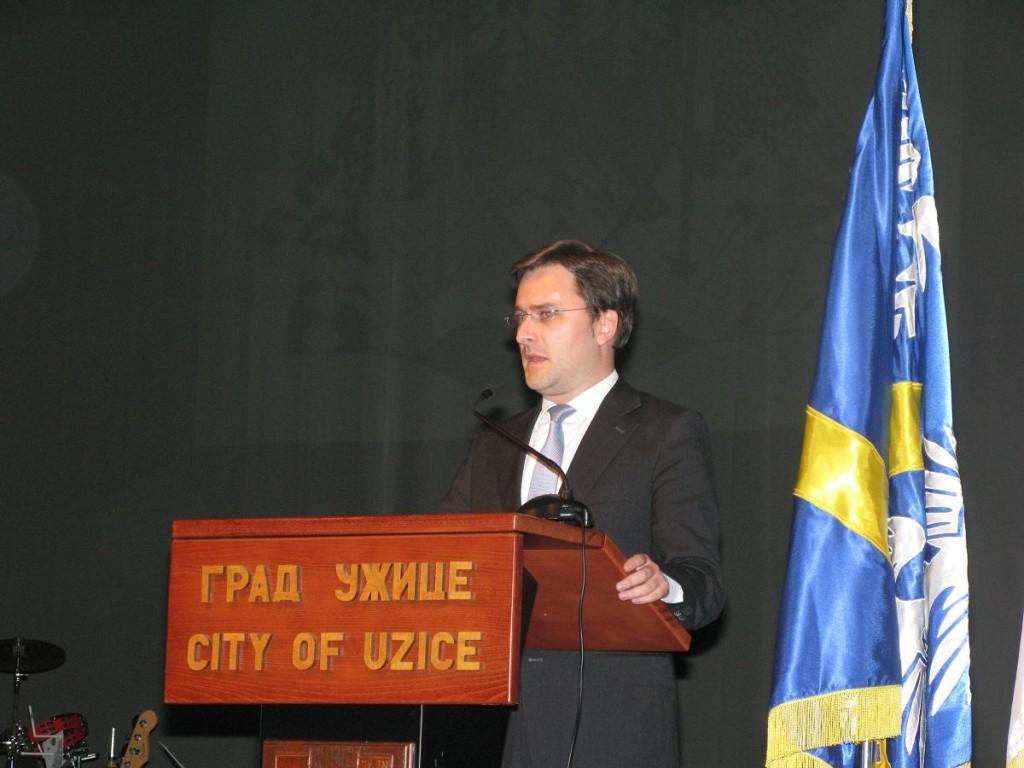 Obraćanje ministra pravde, Nikole Selakovića