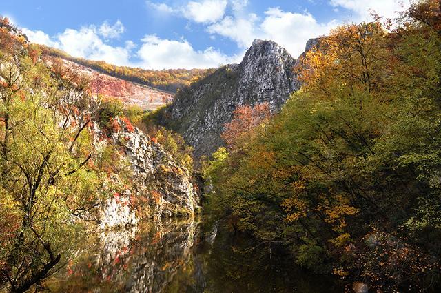 Jesenji kolorit u kanjonu Đetinje