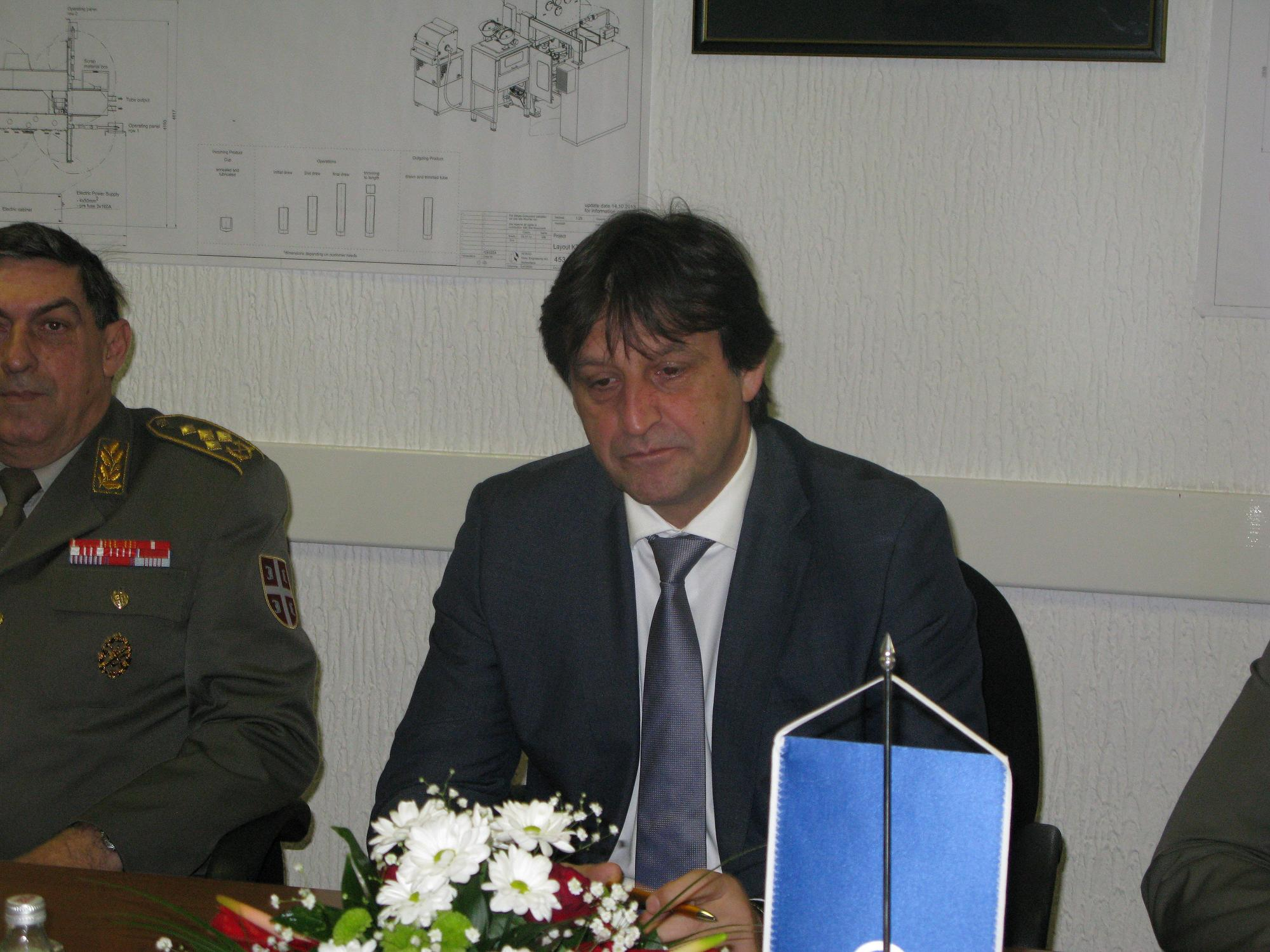 Ministar odbrane