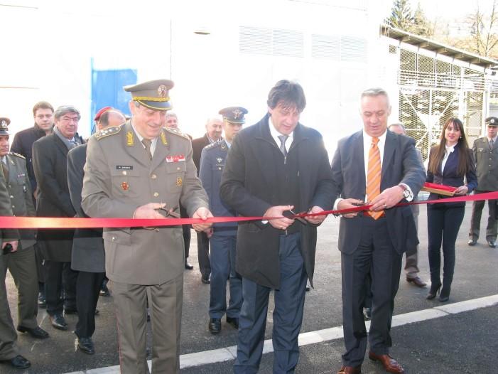 Otvorena rekonstruisana hala u Prvom partizanu