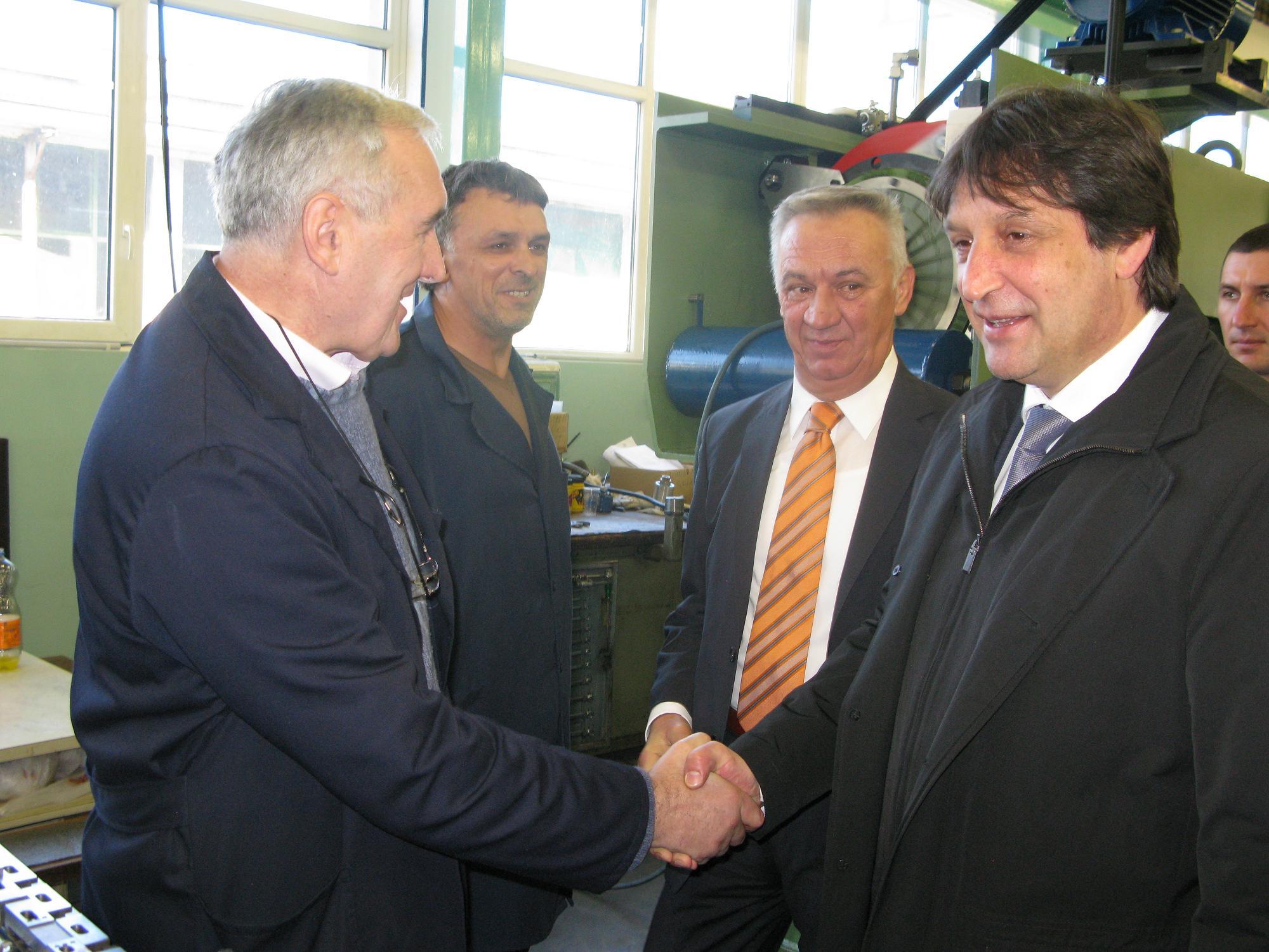 Ministar u obilasku