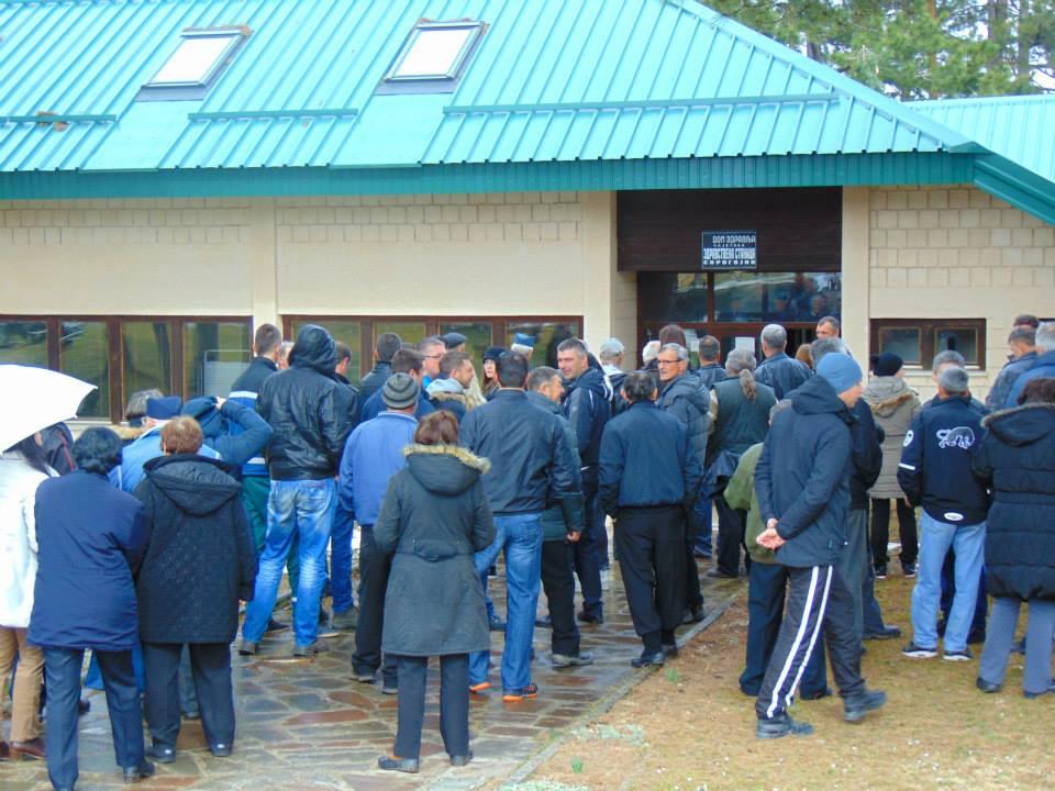 Протест у Сирогјну