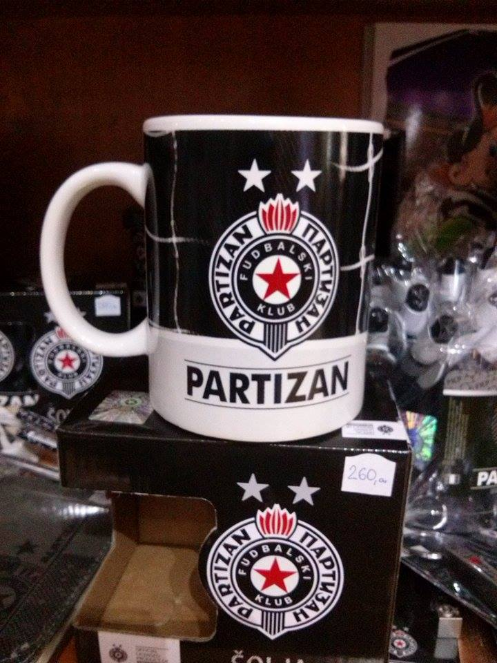 PARTIZAN ŠOLJA
