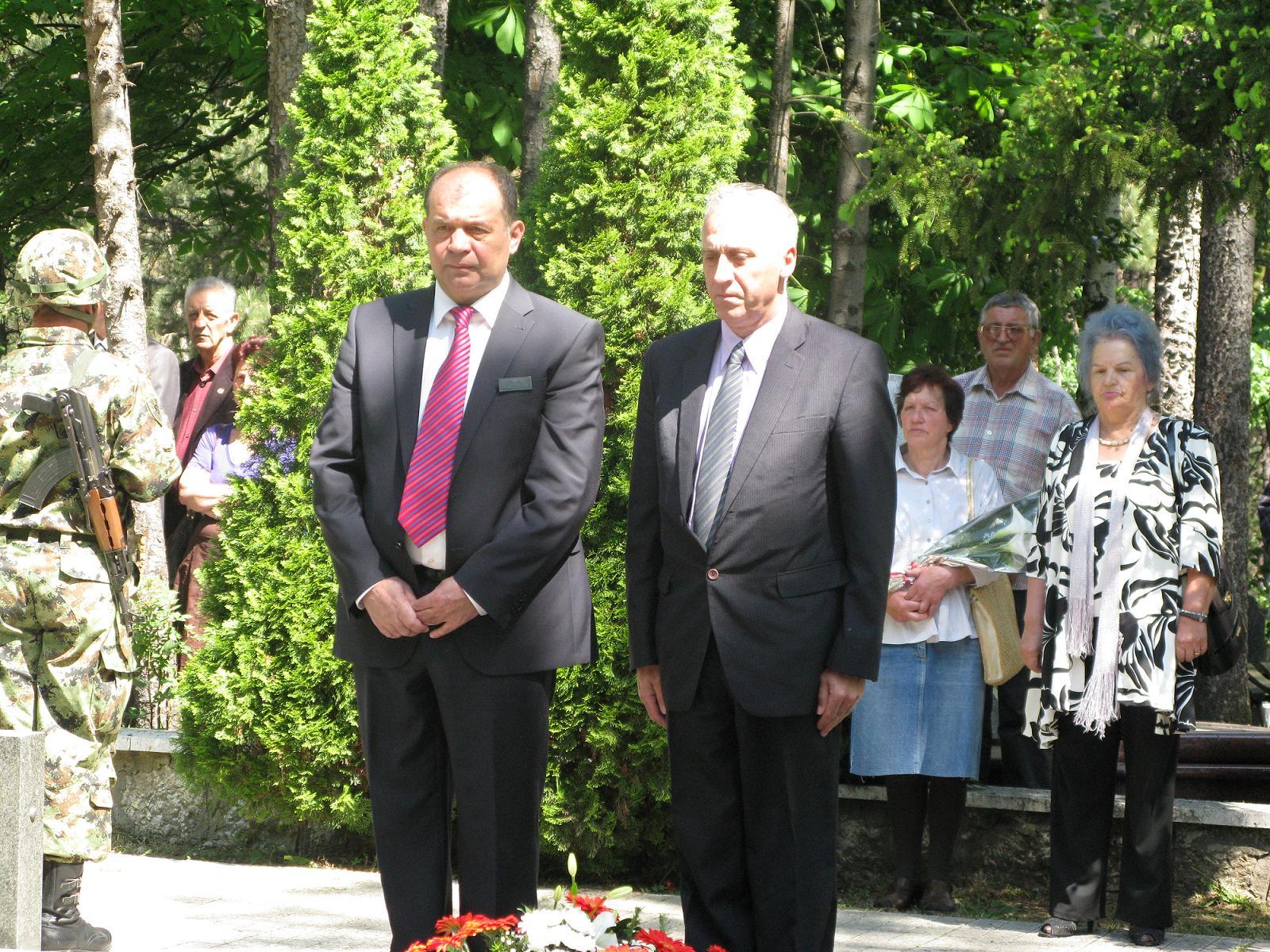 Tihomir Petković i Radiša Marjanović