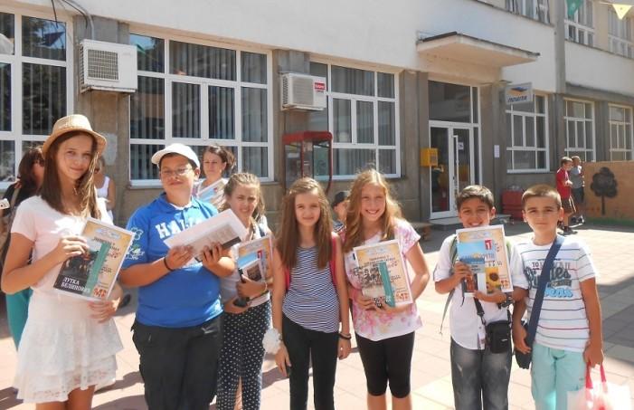 Валентина и Јанко освојили прво место у изражајном читању