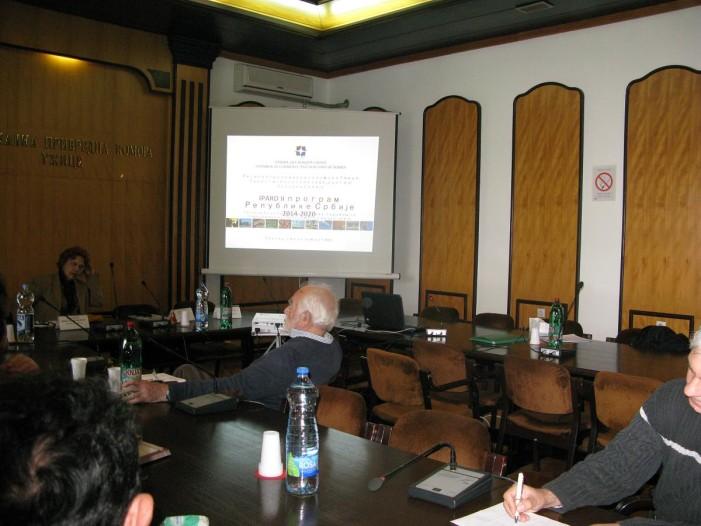 Prezentacija Zakona o inspekcijskom nadzoru u Komori Užice