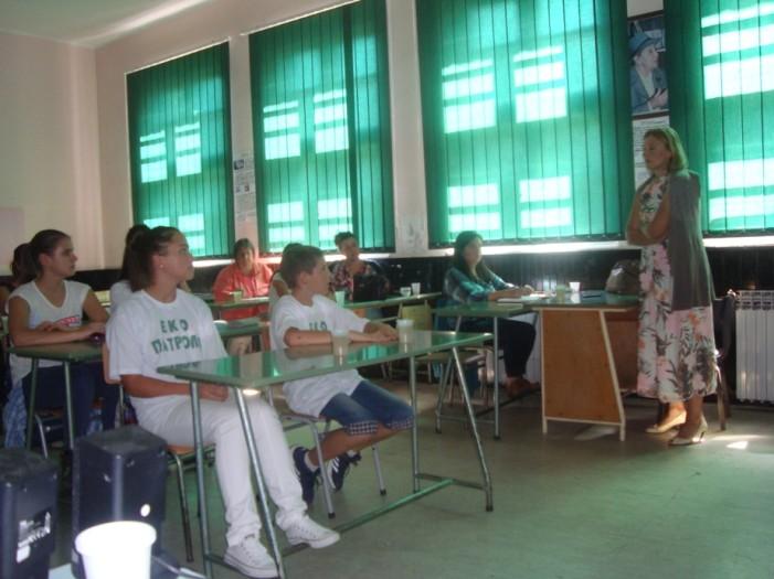 Јачање еколошке свести у Чајетини