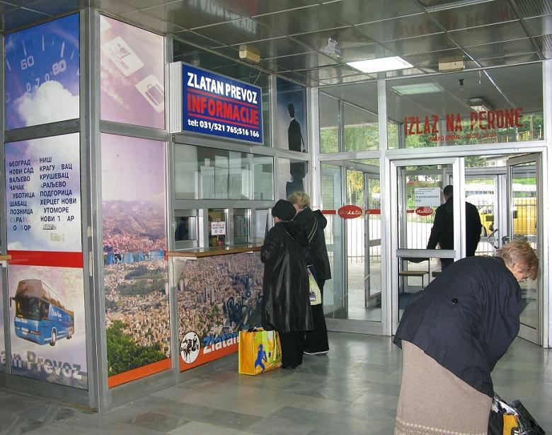 Autobuska stanica Užice