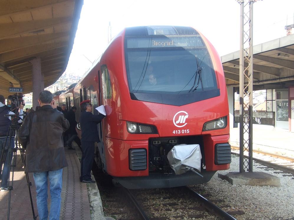 novi voz iz užica