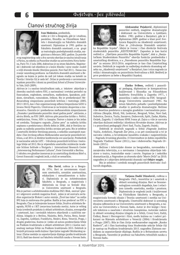FESTIVAL BILTEN 1 STRANA 6