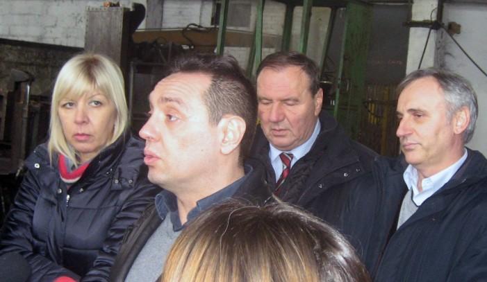 Министар за рад посетио Ваљаоницу