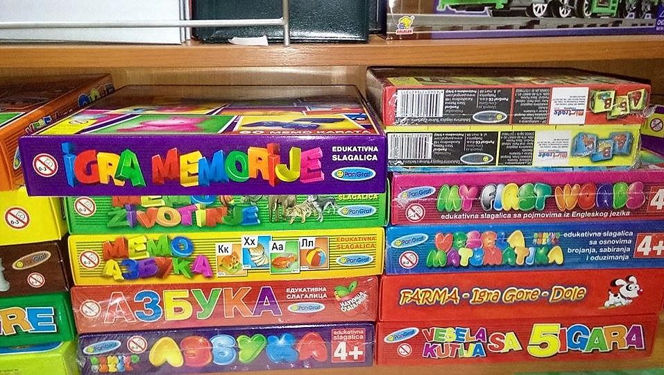 azbuka, matematika, igre memorije petar užice