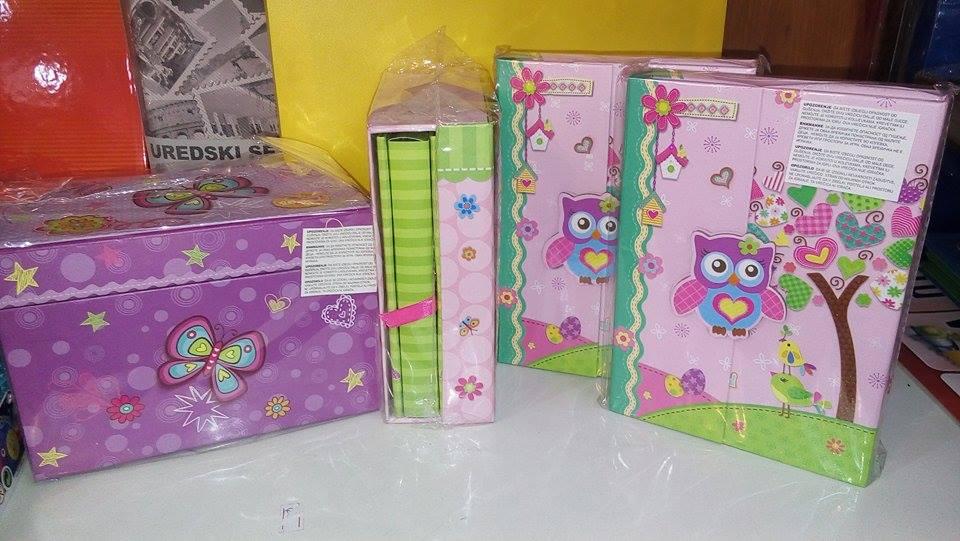 kutija za nakit, ukrasni dečiji dnevnici petar pan užice