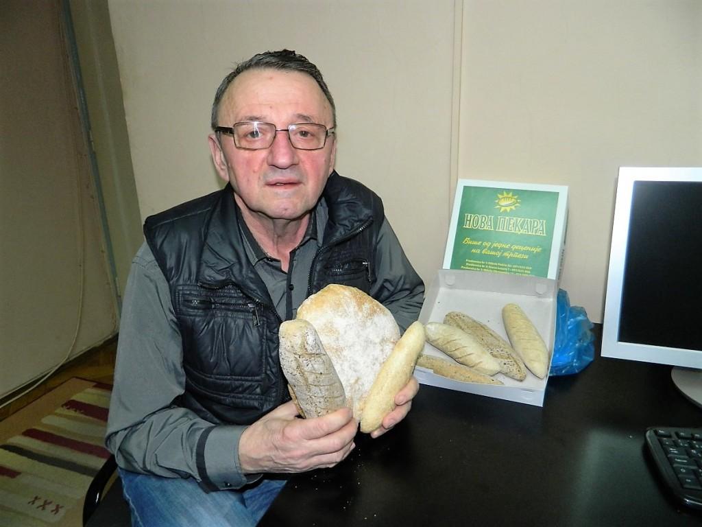mile paunović nova pekara HLEB OD SPELTE