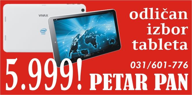 PETAR PAN tableti