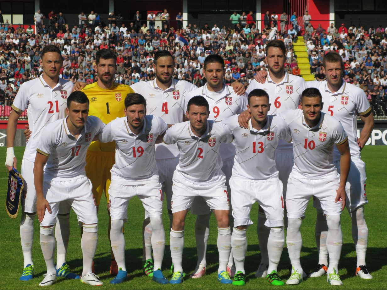 fudbalska reprezentacija srbije užice 25. maj 2016. godine