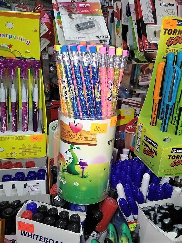 grafitna olovka sa šljkoicama
