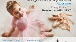 Први пут у Ужицу дечији балетски фестивал