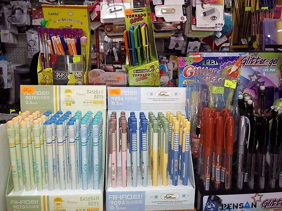 olovka sa gliter gelom
