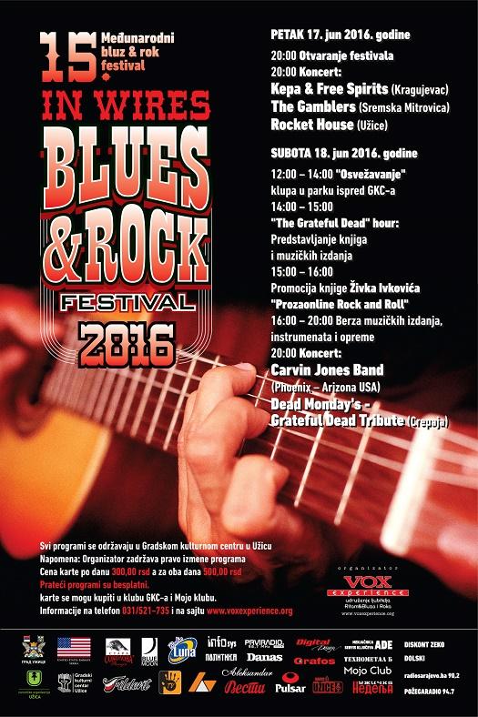 IN WIRES UŽICE BLUES & ROCK FESTIVAL 2016