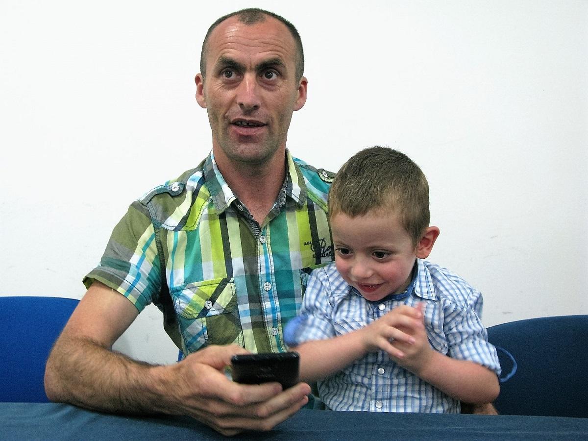 Mali Marko sa ocem Pericom 1