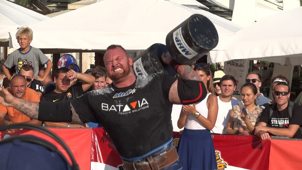 STRONGMAN CHAMPIONS LEAGUE SERBIA 2016