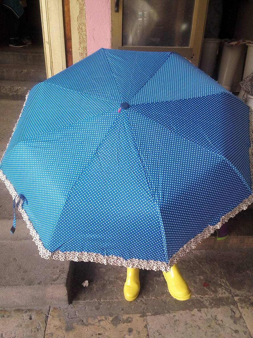 kišobran plavi čipka automatski petar pan 3