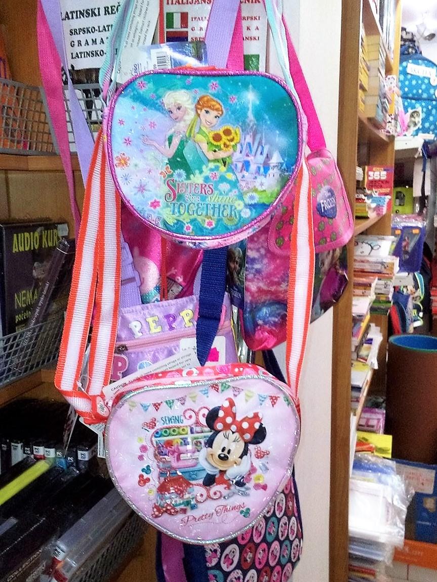 petar pan užice školski pribor, školske torbe, sveske, maped, štedler, frozen, dizni 18