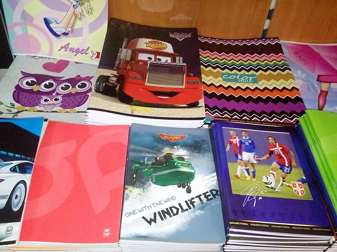 petar pan užice školski pribor, školske torbe, sveske, maped, štedler, frozen, dizni 5