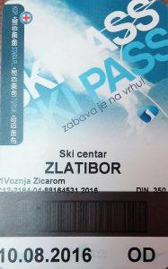 tornik ski pas
