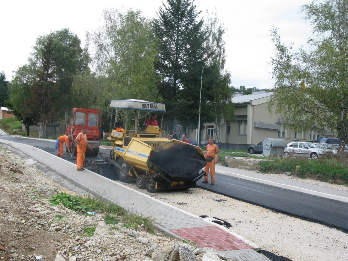 krčagovo lidl radovi saobraćajnica