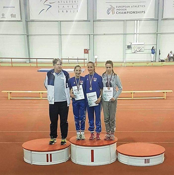 Милица Жунић освојила две медаље