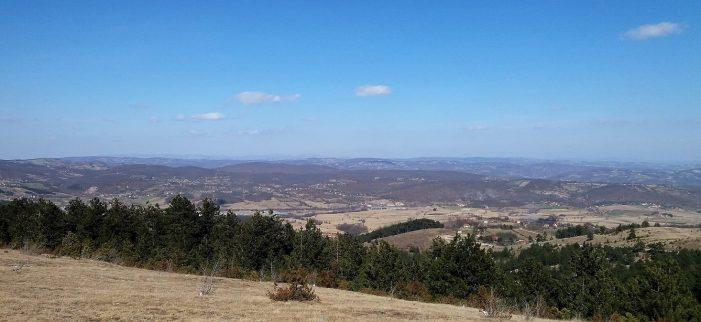 Pogled sa Oka na Braneško polje