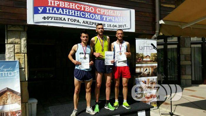 Milan Mitrović pobedio u planinskom trčanju na Fruškoj gori