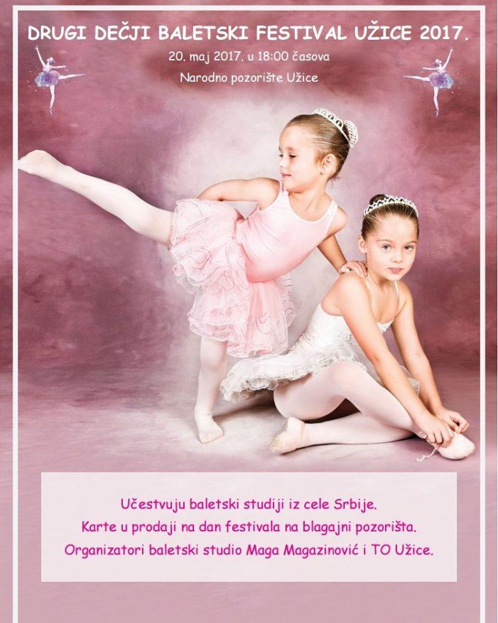 Други дечији балетски фестивал Ужице 2017.