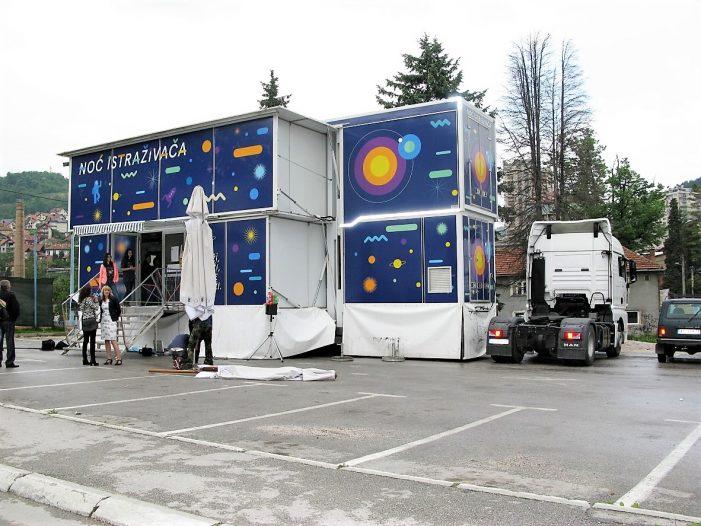 Промоција науке камионом