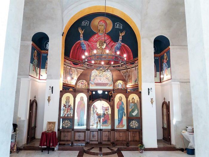 Освештана црква на Чаковини