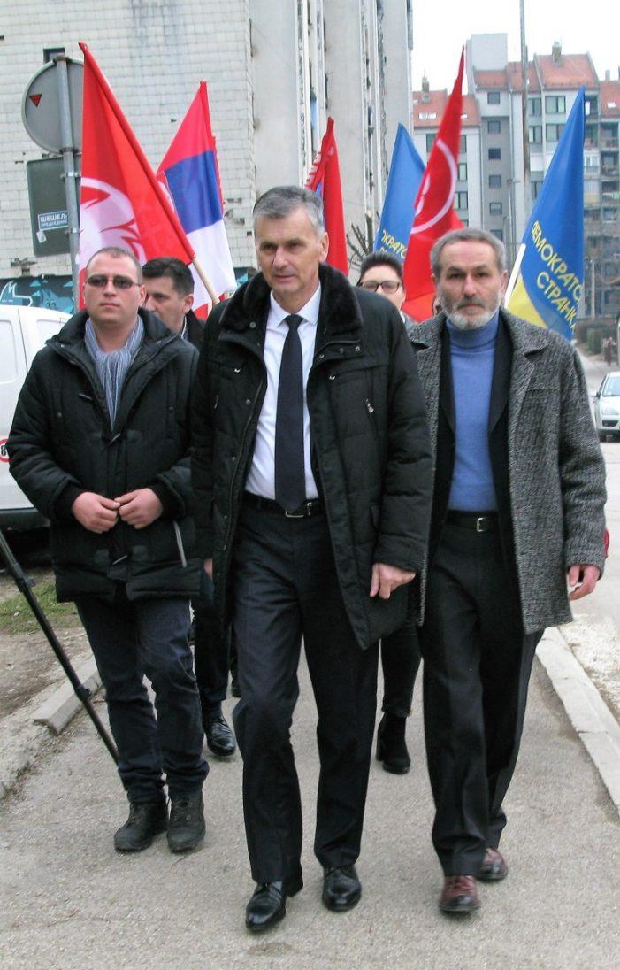 Стаматовић предао листу у Севојну
