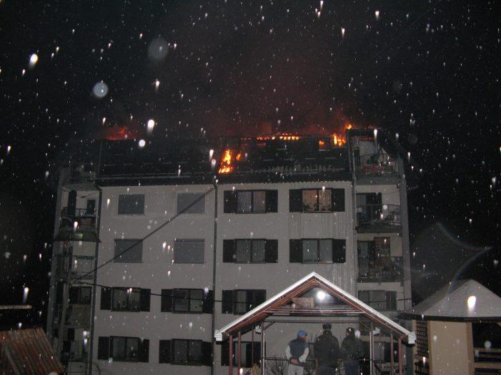 Пожар у Tурици