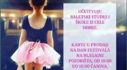 Трећи дечији балетски фестивал Ужице 2018.