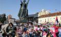 Откривен споменик Велика победа