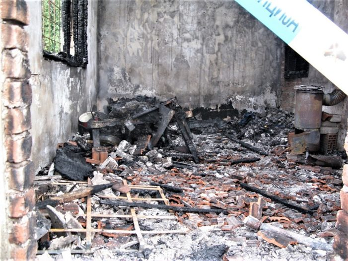 Изгорела три бескућника